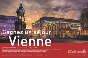 Tirage Escapade 2019-2020 à Vienne !