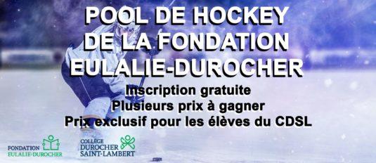 La FED lance son pool de hockey